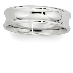 6mm Comfort-Fit Wedding Band, men's