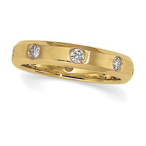 1/2 ct tw Diamond Duo Band, women's ring