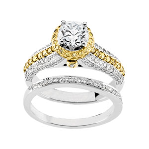 Engagement Ring, Wedding Band, Semi Mount
