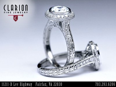Clarionfinejewelry Custom Wedding Bands Custom Engagement Rings