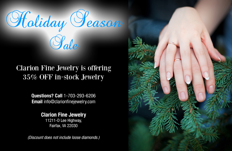 Jewelry Sale 35% OFF In-Stock Jewelry, Clarion Fine Jewelry, Fairfax VA, Washington DC